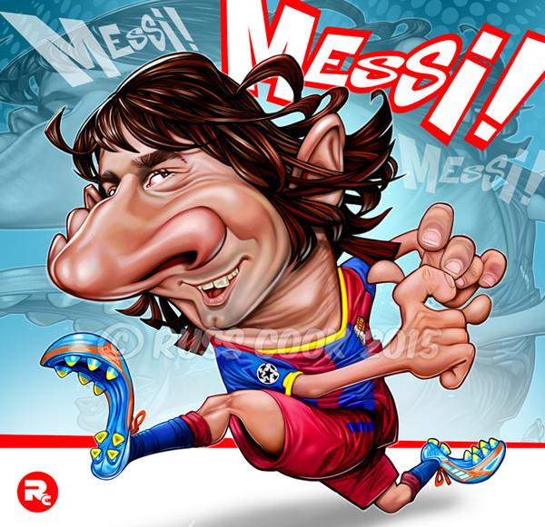 Lionel Messi por Russ Cook