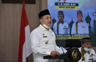Bupati Batu Bara Buka Diseminasi Pembatalan Keberangkatan Ibadah Haji Tahun 2020