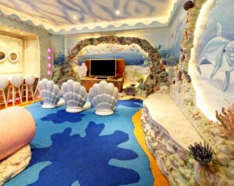 deep sea adventure room