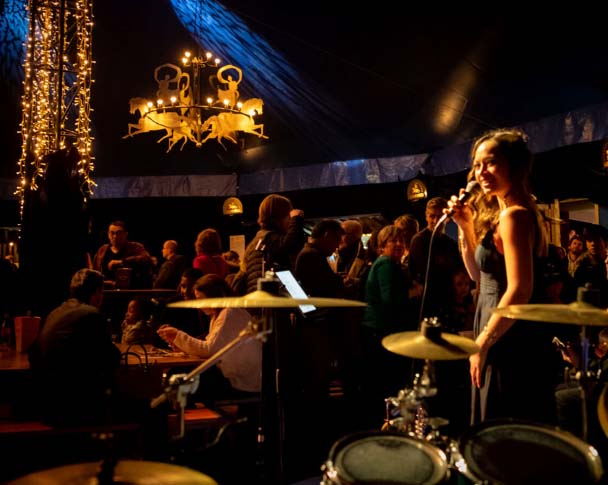 Candice Parise comédie musicale, The voice