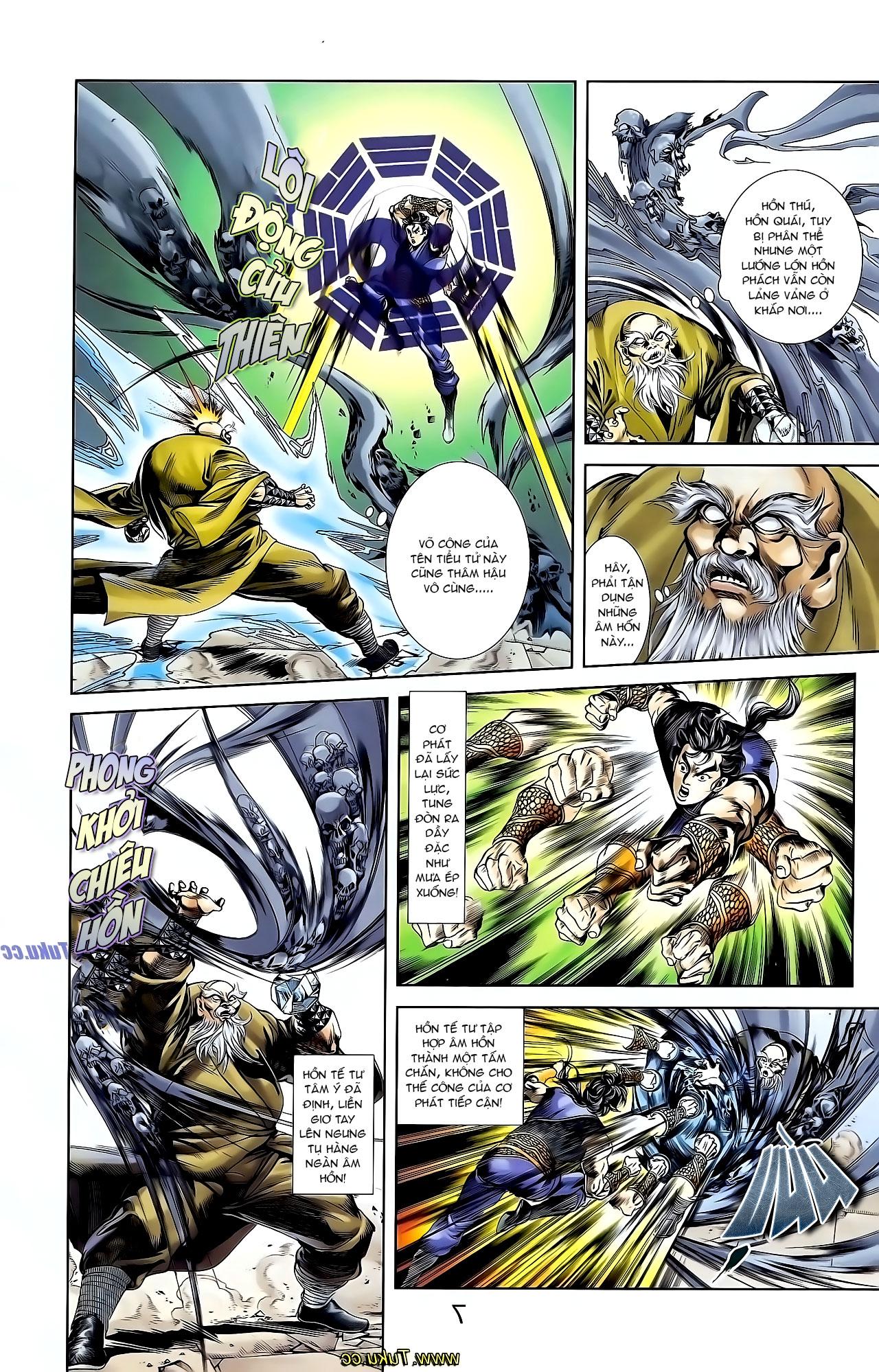 Cơ Phát Khai Chu Bản chapter 125 trang 18