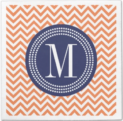 http://www.zazzle.com/orange_chevron_zigzag_personalized_monogram_taylorcorpnapkin-256008519295408644?rf=238845468403532898