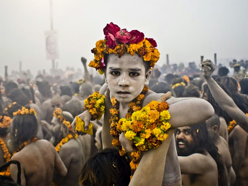 26. Kumbh Mela – Allahabad, India - 27 Amazing Travel Photos That Will Infect You With The Travel Bug