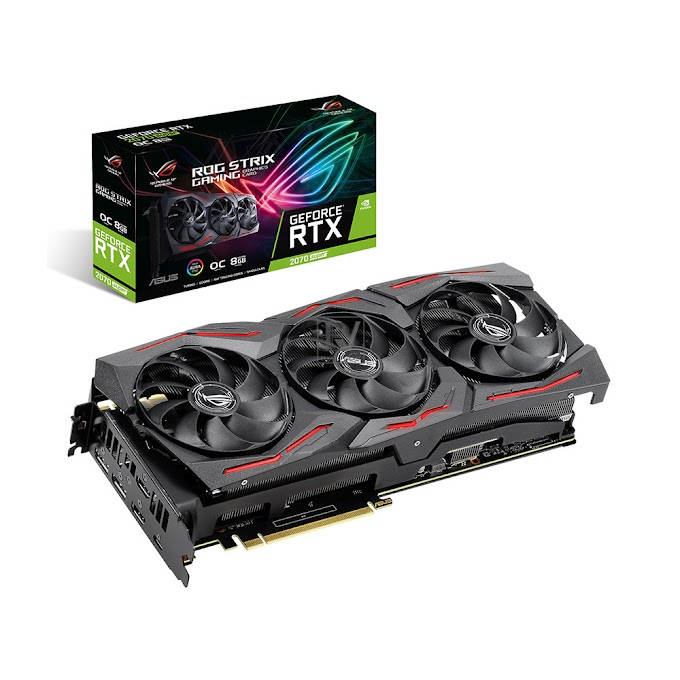 Giới thiệu card đồ họa ASUS GeForce RTX 2070 Super 8GB GDDR6 ROG Strix OC