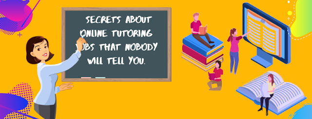 Secrets About Tutoring Online Jobs From Home That Nobody Will Tell You 2022