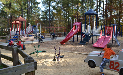 Shelley Lake Park - Raleigh - A Guide for Parents in the