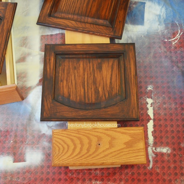 2nd coat of General finishes Java Gel Stain