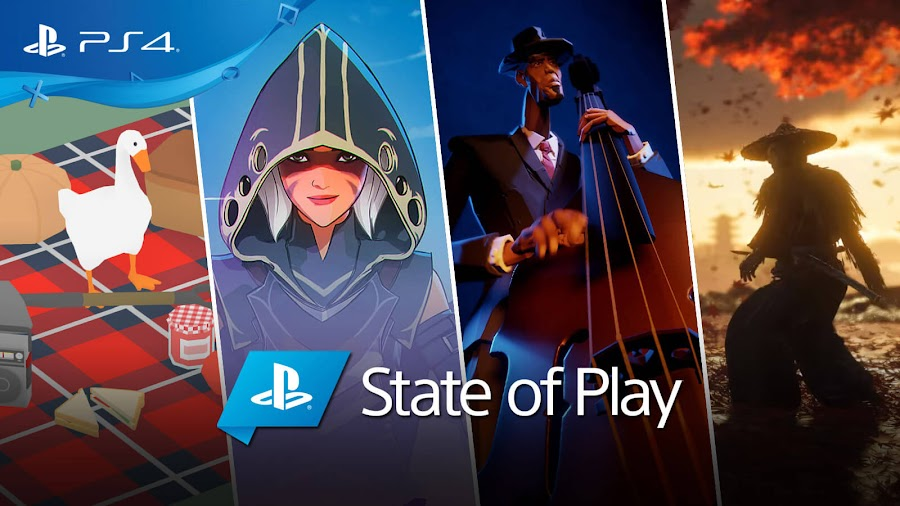 playstation state of play 2019 announcements sony ps4 untitled goose game spellbreak dreams dreams ghost of tsushima