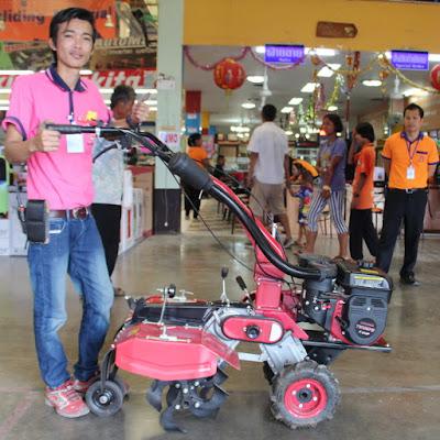 Buriram Thailand Roto Tiller Cultivator Delivery