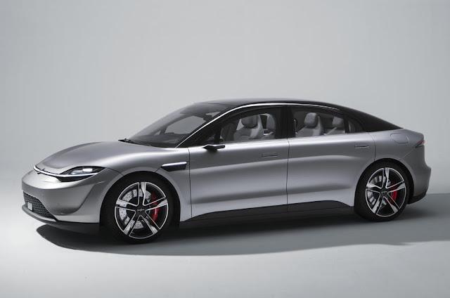 Sony 'destapa' el Vision S, su apuesta por los vehículos eléctricos y autónomos