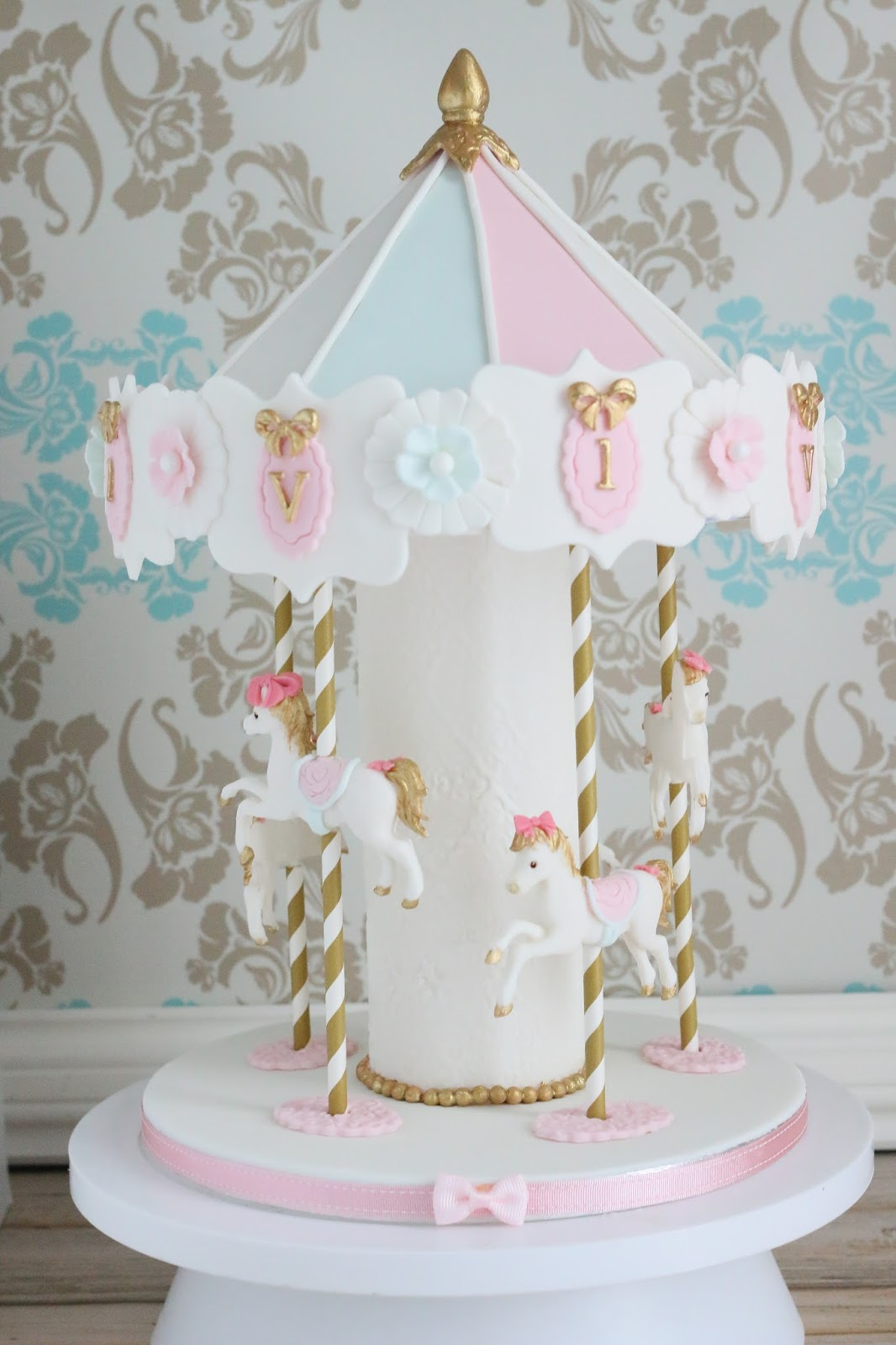 Carousel Cake Topper Uk