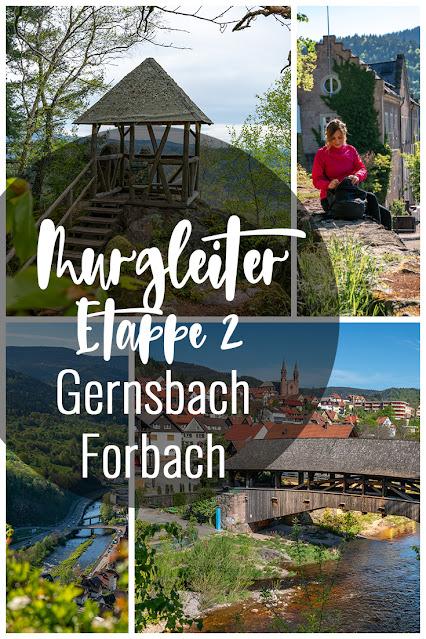 Premiumwanderweg Murgleiter | Etappe 2 von Gernsbach nach Forbach | Wandern nördlicher Schwarzwald 05