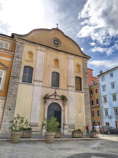 kościół w Rijece, centrum miasta, co zobaczyć
