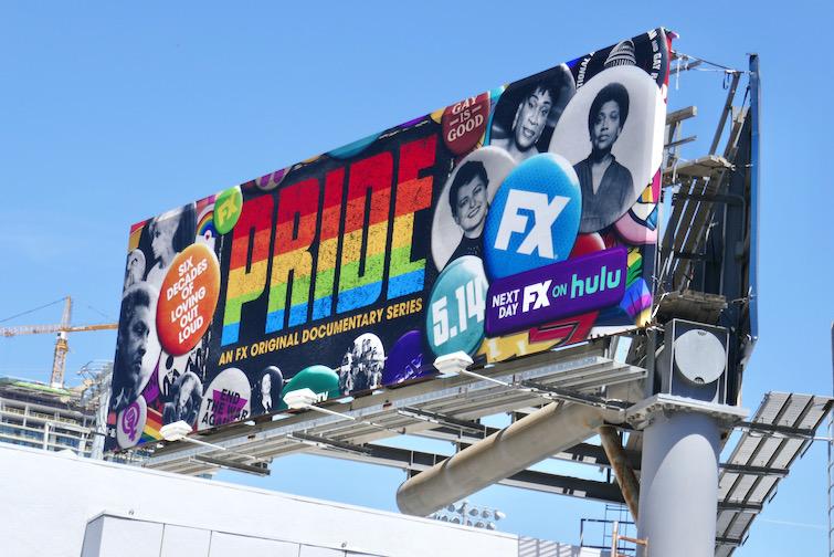 Pride FX documentary series billboard
