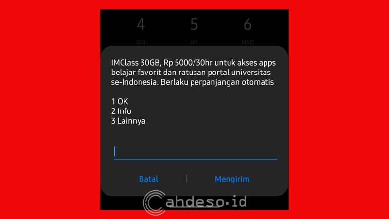 Paket IMClass 30GB