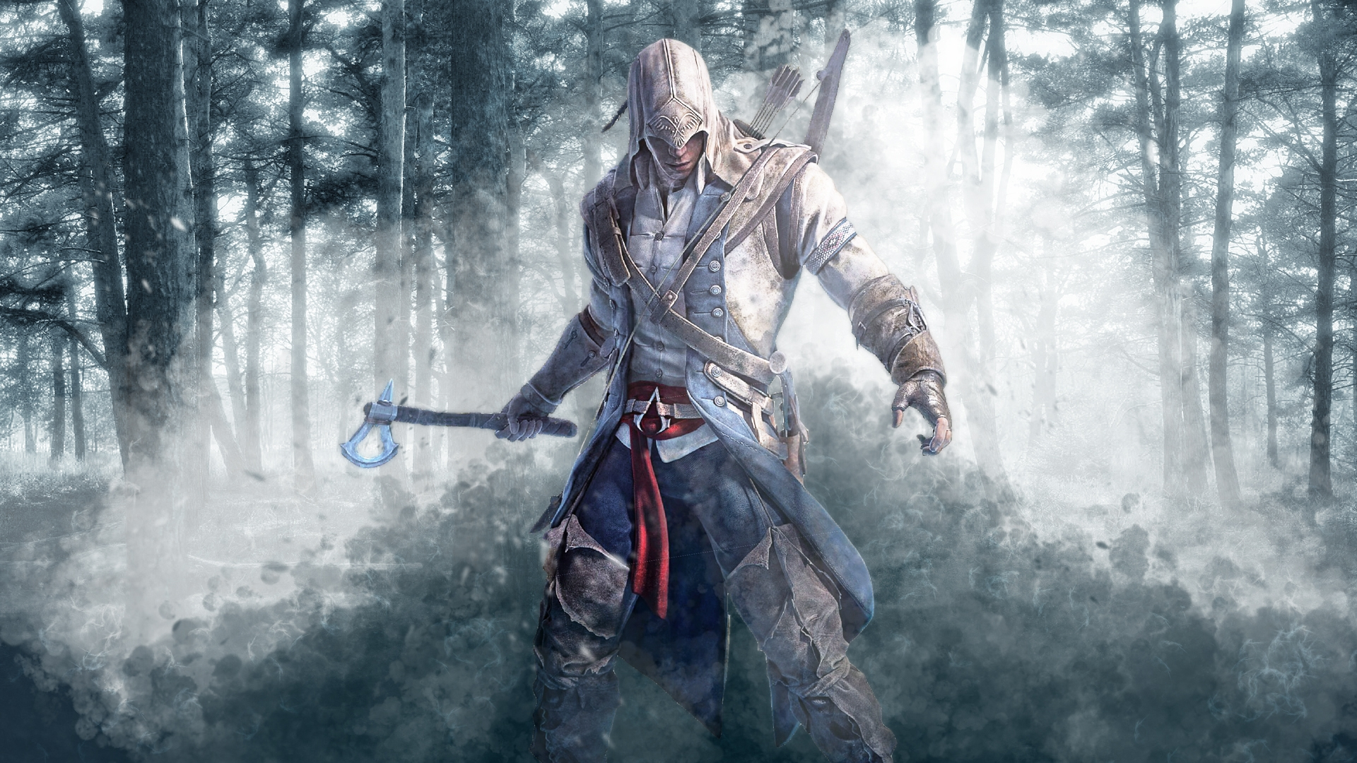 FreeWall Assassins Creed 3 Connor Wallpapers