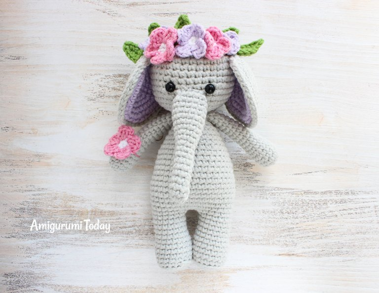 Cuddle Me Hippo amigurumi pattern - Amigurumi Today | 593x768