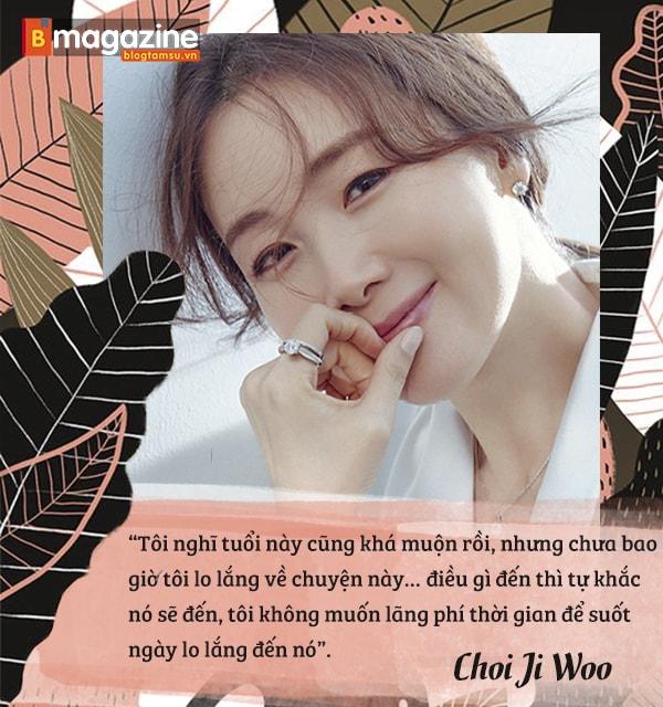 'Nữ hoàng nước mắt' Choi Ji Woo: mơ về một hạnh phúc nhỏ bé, giản dị - Ảnh 14