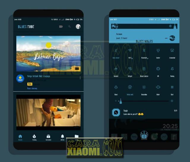 Download MIUI Tema Blues Males For Redmi Xiaomi