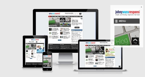Download New Johny Wuss Responsive Blogger Template Gratis by Anas Blogging Tips