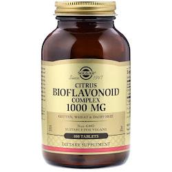 Solgar, Комплекс цитрусовых биофлавоноидов, 1000 мг, 100 таблеток