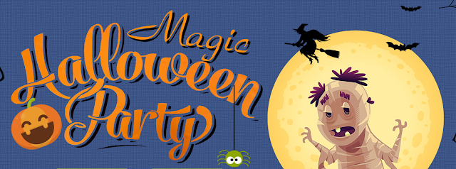 Magic Halloween Party na Tomtop