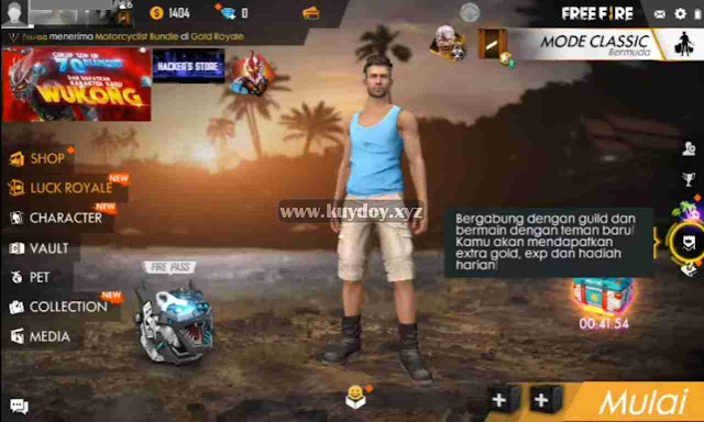 Download Apk MOD Unbanned Device Free Fire V1.37