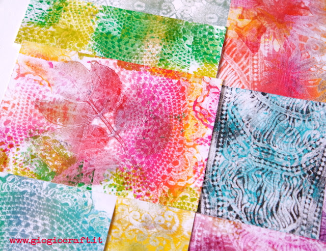 Video tutorial: How to gel print with doilies and GelliArts®