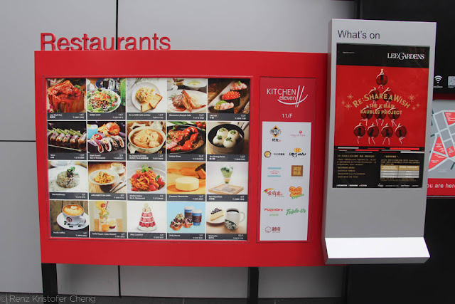 Restaurants in Hysan Place of Causeway Bay