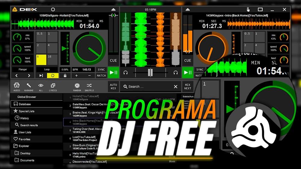 Programa DJ Para Windows y Mac   DEX 3 LE Ultima Versión PC GRATIS