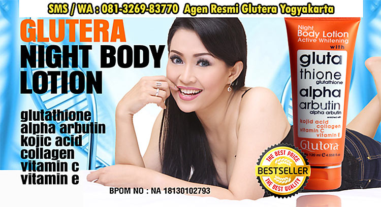 glutera jogja body lotion