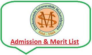 Manikpara College Merit List