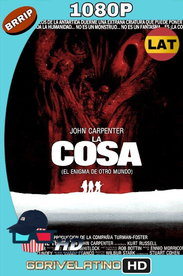 La Cosa (1982) BRRip 1080p Latino-Ingles MKV