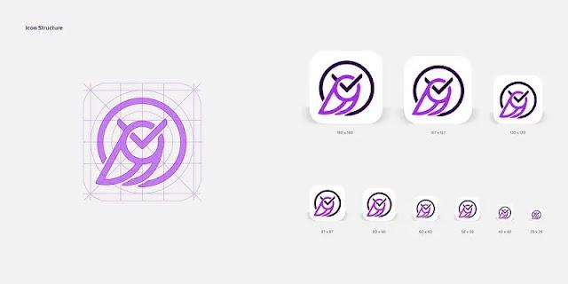 The iconic logo template features an owl and a stylized clock (Image: Nadun Jayasundara)