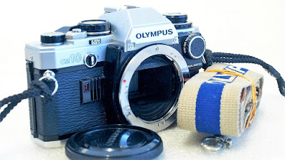 Olympus OM10 (Chrome) Body #366, Manual Adapter