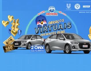 Cadastrar Promoção Aniversário 2020 Andorinha 46 Anos Abraços Virtuais - Carros Vales-Compras