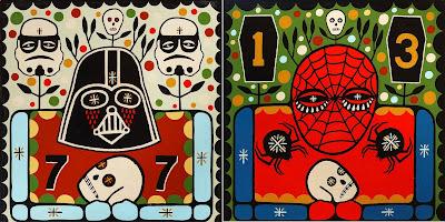 Death Folk Pop 2021 Painting Series by Mike Egan