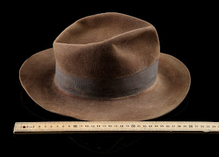 Indiana Jones' (Harrison Ford) Signature Fedora from INDIANA JONES AND THE RAIDERS OF THE LOST ARK