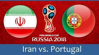 مشاهدة مباراة البرتغال و إيران في كأس العالم 2018 بتاريخ 25-06-2018 ماتش لايف
