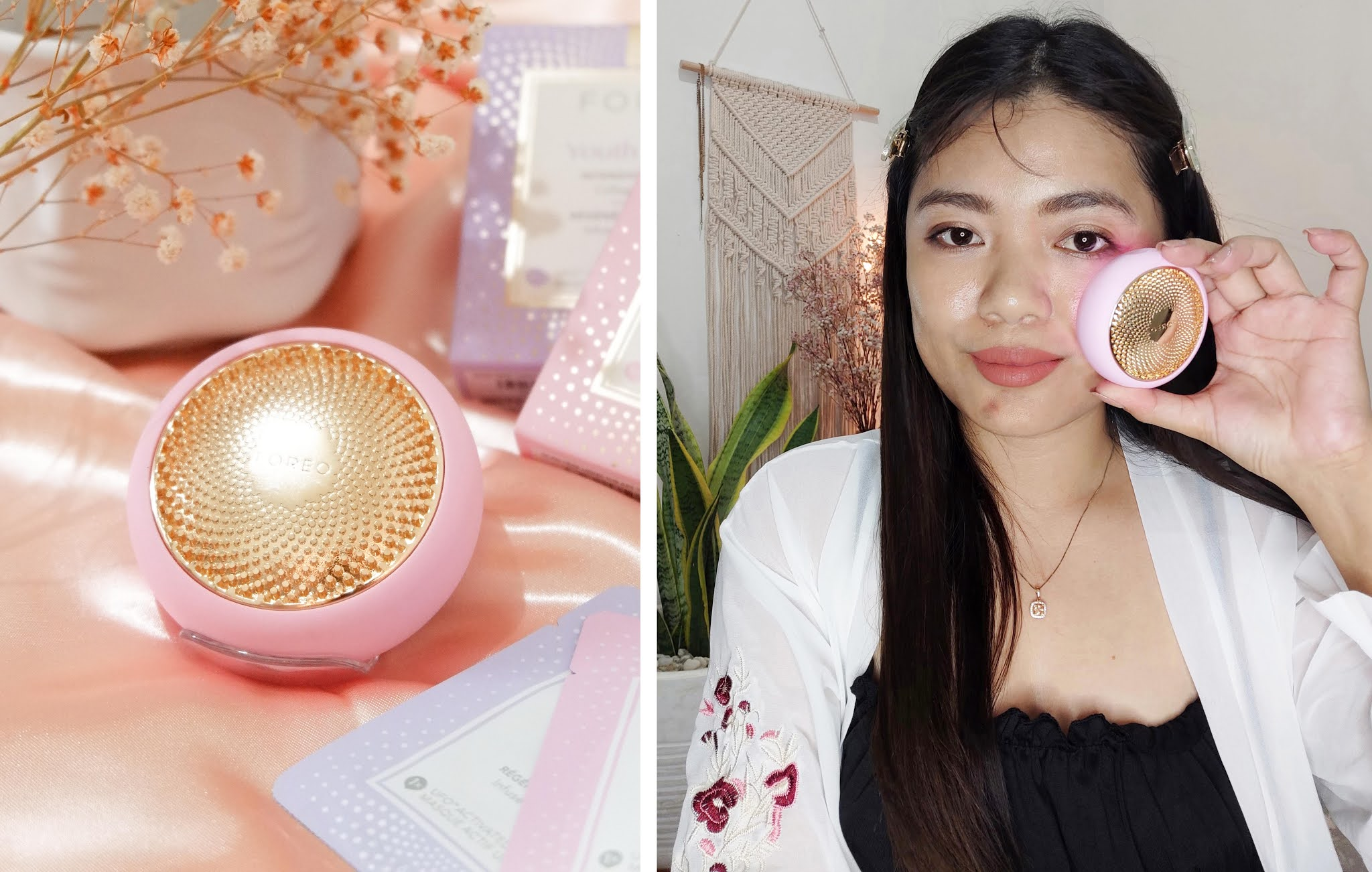 REVIEW OF UFO SMART MASK DEVICE BY FOREO SWEDEN
