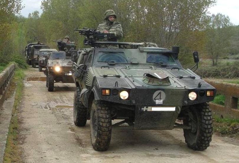 Τεθωρακισμένα-Οχήματα-του-Ελληνικού-Στρατού-Αναπτύσσονται-στον-Έβρο