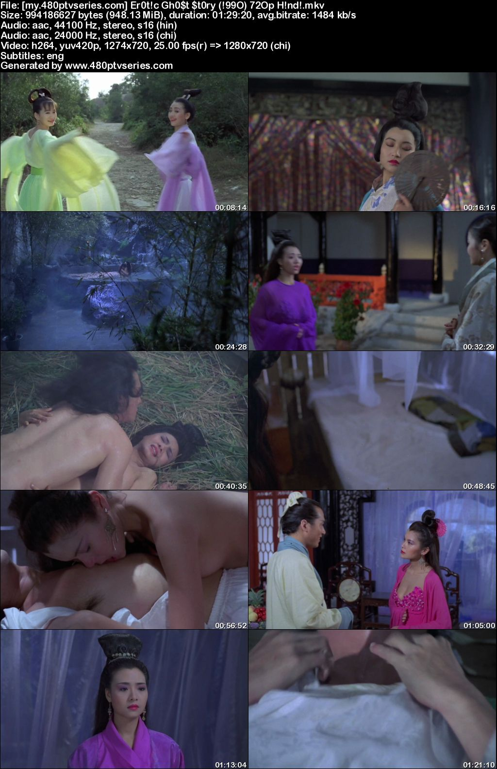 Watch Online Free Erotic Ghost Story (1990) Full Hindi Dual Audio Movie Download 480p 720p Bluray