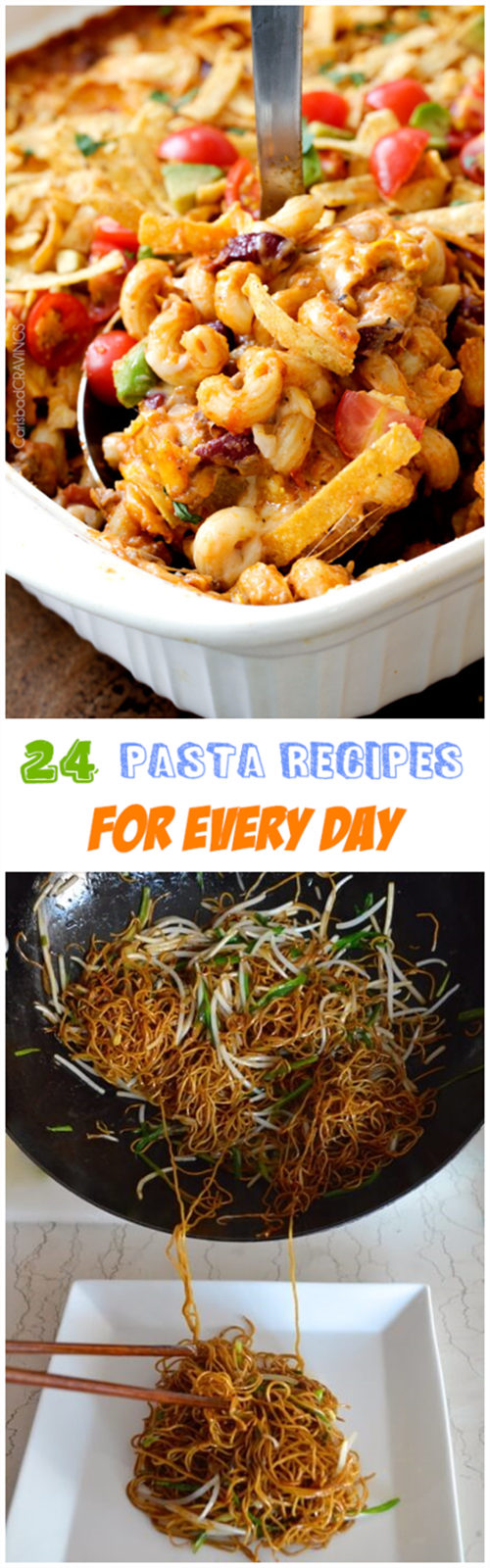 24 pasta recipes for every day