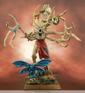 Wood Elves Sylvaneth Dryads Branchwraith conversion