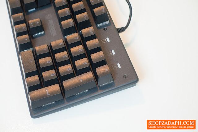shipadoo jk200 mechanical keyboard review