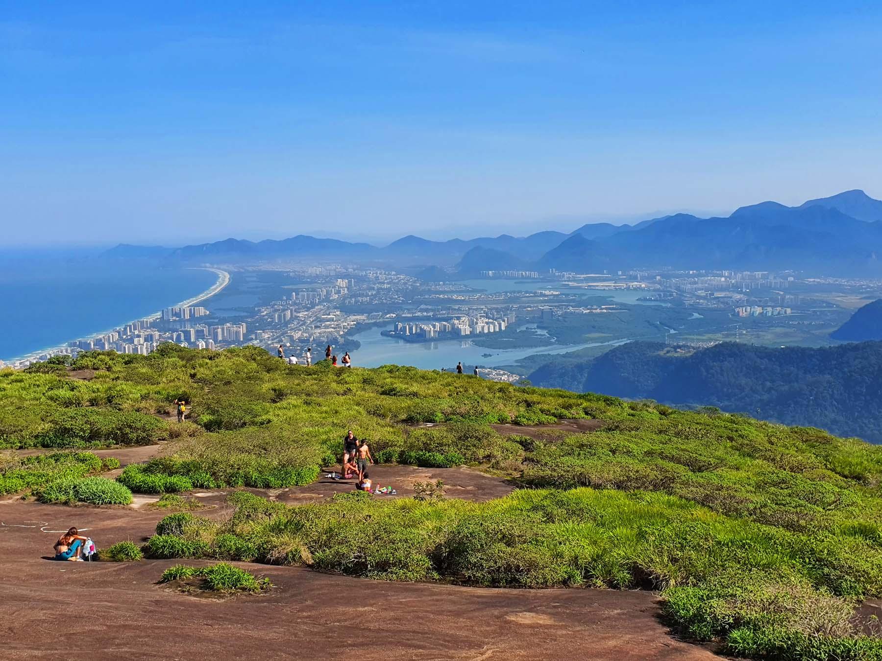Mirante da Pedra Bonita no Rio de Janeiro