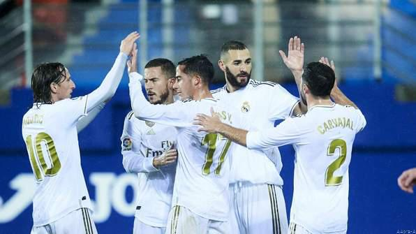 Eibar vs Real Madrid highlight: Benzema Double Lifts Real Madrid