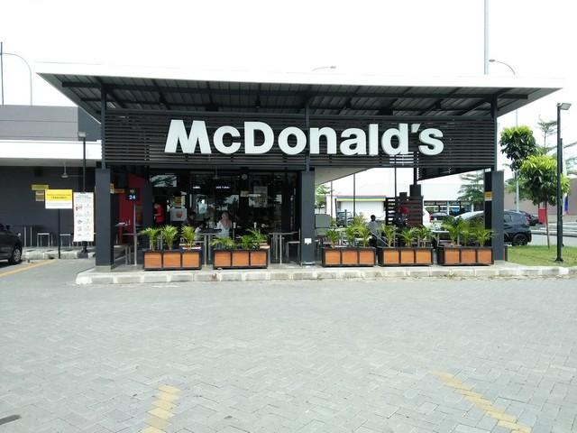Ayam Gulai McD, Sensasi Kuliner Padang di McDonald's Rest Area Km 726B