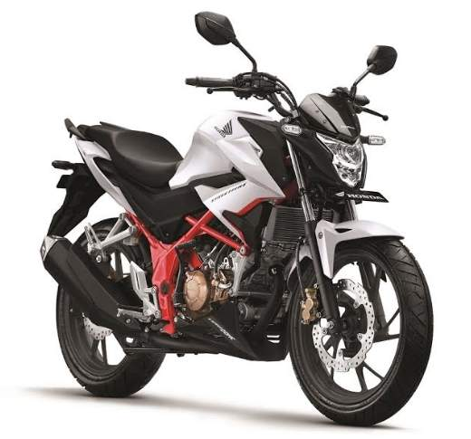 New CB150R Special Edition Razor White