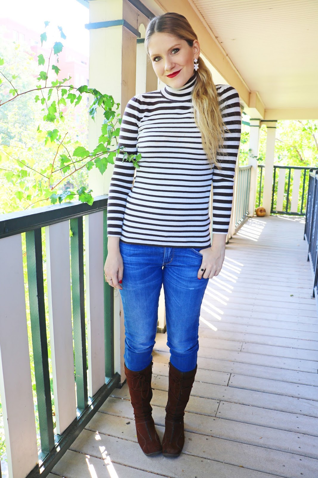 Cute and comfy outfit for Fall